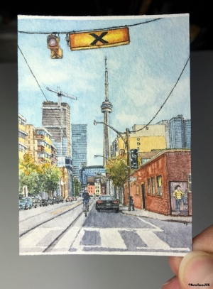 48 The View Down McCaul Street, Toronto studio