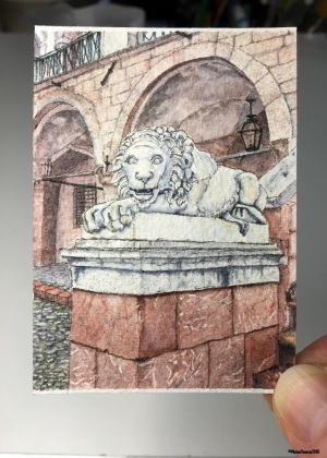 49 The Lion of Norcia Studio