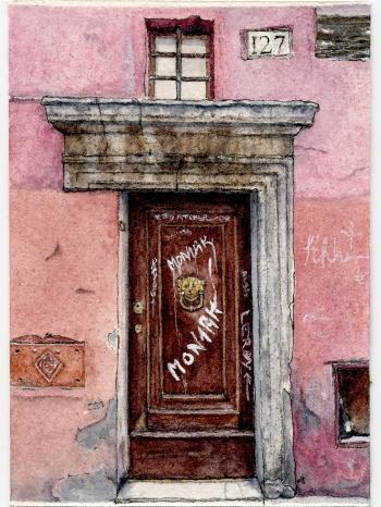 #51 - Roman Door 1