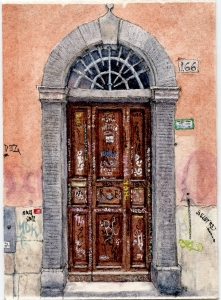 #52 - Roman Door 2