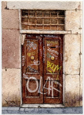 #53 - Roman Door 3