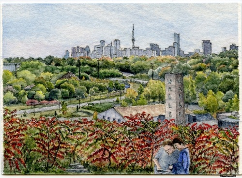 #54 - Brickworks City Skyline