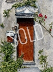 #26 - Door in Triora, Italy - SOLD