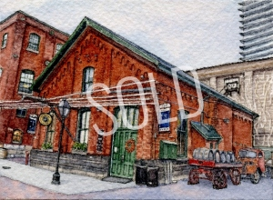#46 - The Pump House, Distillery District, Toronto - SOLD