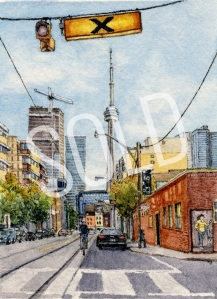 #48 - The View Down McCaul Street, Toronto - SOLD