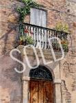 #42 - Tuscan Doorway - SOLD