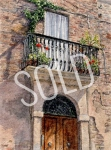#42 - Tuscan Doorway - SOLD