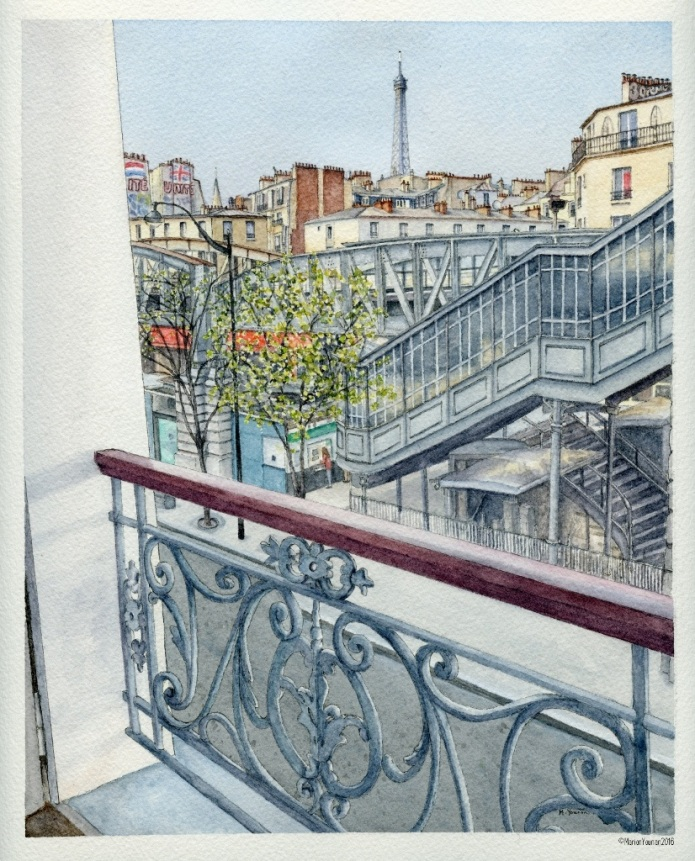 Paris Anniversary Memories