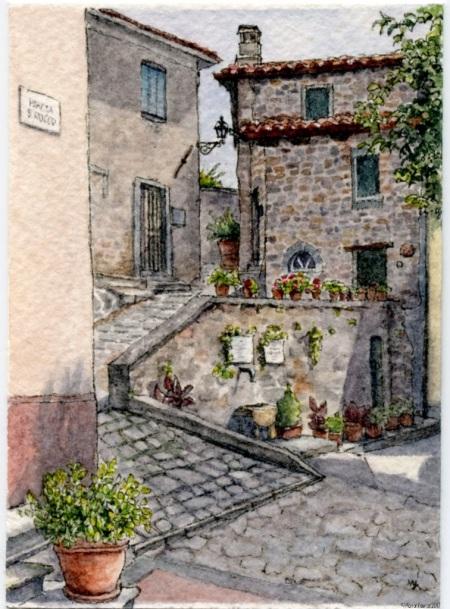 #58 - Tuscan Piazza Pots