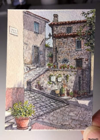 #58 - Tuscan Piazza Pots in studio