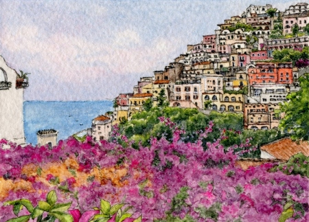 #59 = Positano Purple