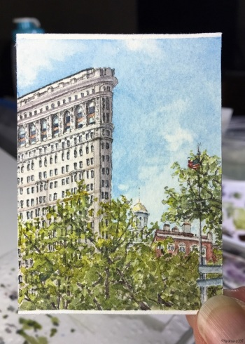 # 60 - Flatiron, New York (in studio)