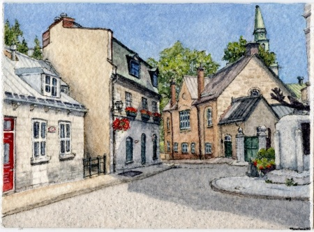 #61 - Old Quebec City Charm