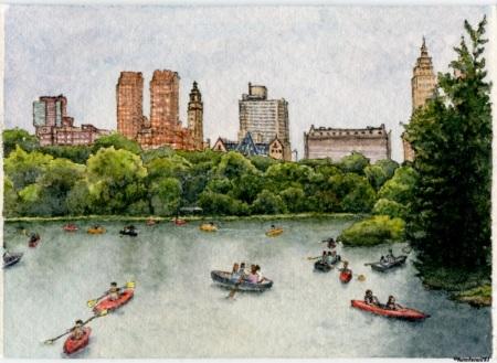 #63 - Boating in Central Park