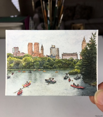 #63 - Boating in Central Park (in studio)
