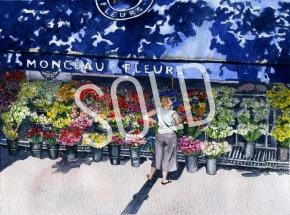 Parisian Affliction of Floral Indecision - Sold