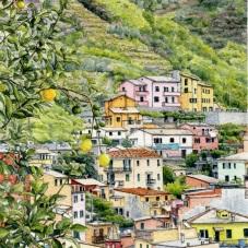 Riomaggiore Uptown (2017) - commission