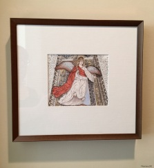 Da Forli Angel - Cross (framed)
