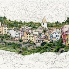 Corniglia on the Ridge (2018) - sold
