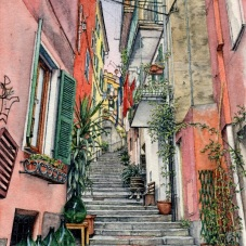 Via Milite Ignoto, Monterosso al Mare (2018) - commission