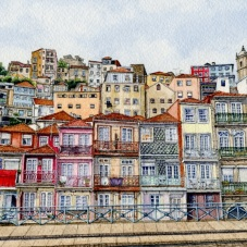 Miragaia Neighbourhood, Porto (2019)