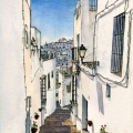 A Street in Cadiz –commission