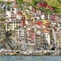 A View of Riomaggiore, Cinque Terre –sold
