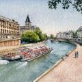 Along The Seine, Paris –sold