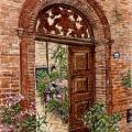 Behind a Sarnano Door –sold