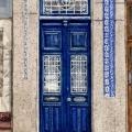 Blue Porto Door