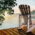 Dawn by the Lake –sold