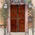 Deck The Door Alla Romana