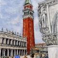 Eve Views Campanile di San Marco –sold