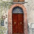 Green Lantern Door,Orvieto