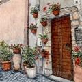 Italian Street Garden –sold