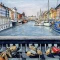 Love Locks at Nyhavn, Copenhagen –sold