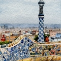 Park Guell Lookout, Barcelona –sold