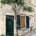 Provençal Green Door –sold