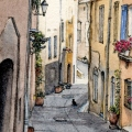 Provencal Street Life –sold