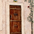 Provence Door and Roses – sold
