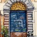 Rome Graffiti Door 4 –sold