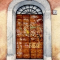 Rome Graffiti Door 5