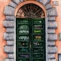 Rome Graffiti Door 6 –sold