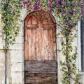 Rustic Door in Saint-Paul de Vence –sold