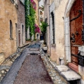Street in Saint-Paul de Vence –sold