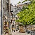 Strolling in Les Baux-de-Provence –sold