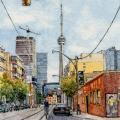 The View Down McCaul Street, Toronto –sold