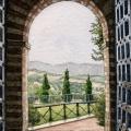 Through A Tuscan Portal –sold