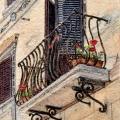 Tuscan Balcony –sold