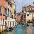 Venice Canal Reflections – sold